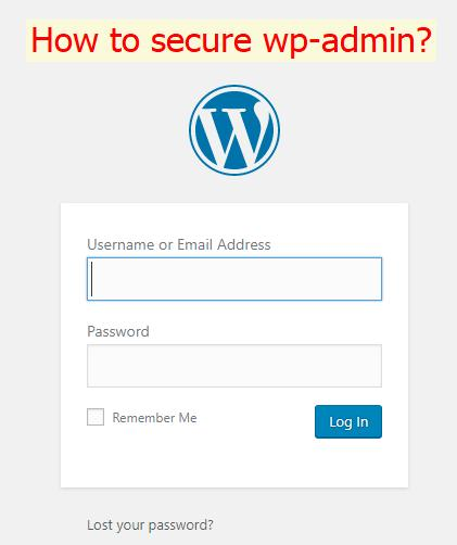 Hướng dẫn bảo vệ wp-admin wp-login.php tránh bị tấn công dò mật khẩu (brute-force) cho website WordPress